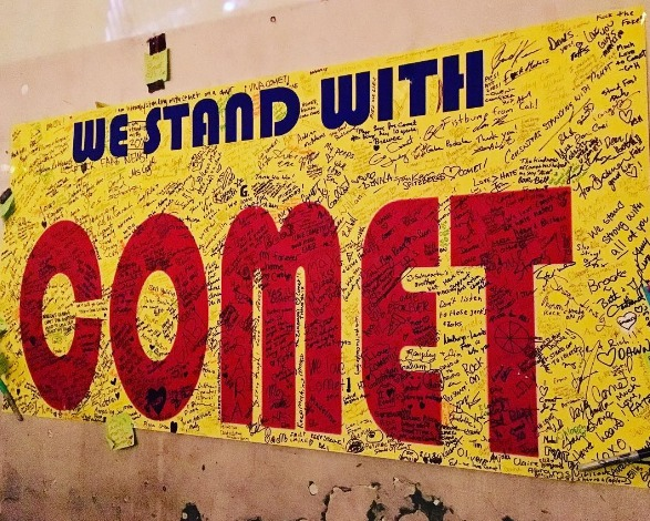 Comet Ping Pong, a Washington, DC, pizzeria, has been the target of a fake-news conspiracy.