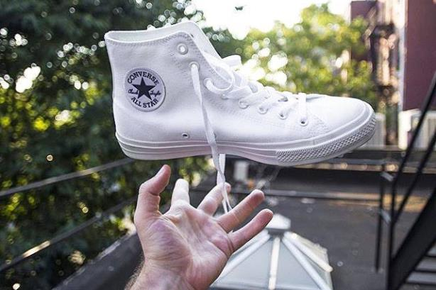 592d2e36da33 The launch of the Chuck Taylor All Star II – the iconic canvas shoe s first  extension – has been well-played by Nike