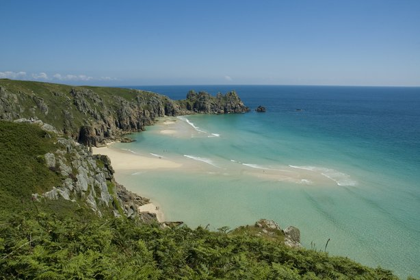 Porthcurno, West Cornwall. Cornwall Council has defended its decision to hire a head of comms and engagement (pic credit Adam Gibbard and Visit Cornwall)