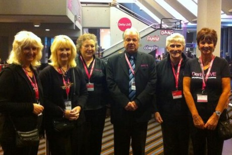 Derby City Council: taking part in last year's #OurDay