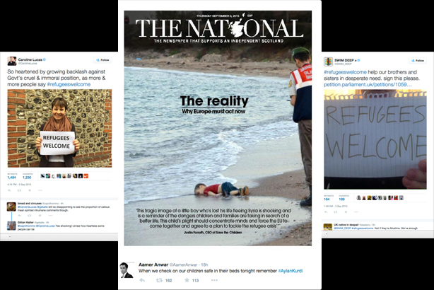Aylan Kurdi: Twitter was 'catalyst' in spreading story on a global scale