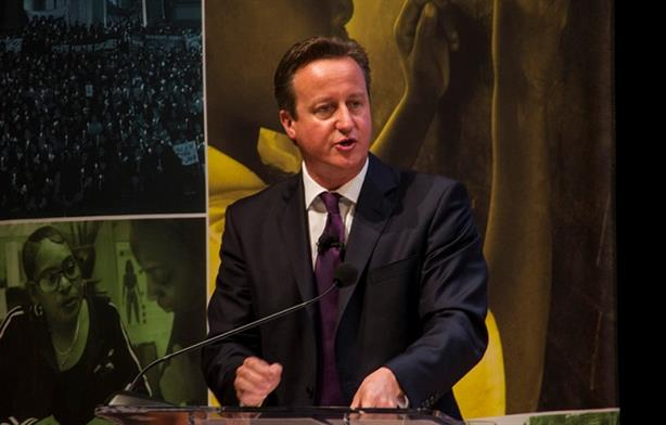 Comms is key: Cameron speaking in 2014 (Credit: Melissa Bunni Elian via flickr.com/transparencyinternational)