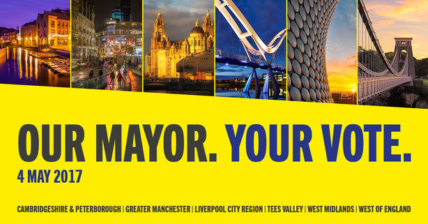 The DCLG campaign around the mayoral elections has begun in earnest this week