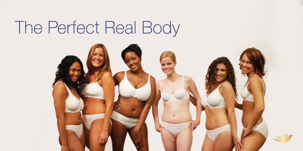 Dove responded to Victoria's Secret with the #IAmPerfect hashtag