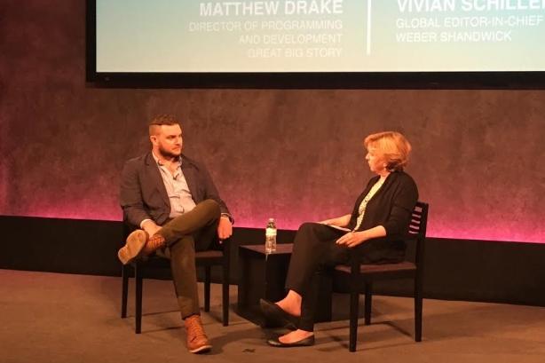 Matthew Drake and Vivian Schiller