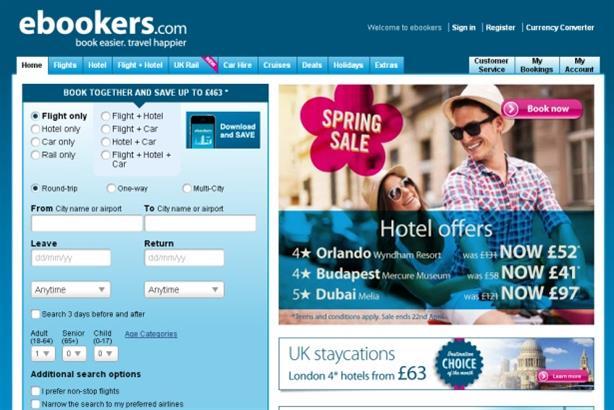 Ebookers: UK and Ireland awareness campaign