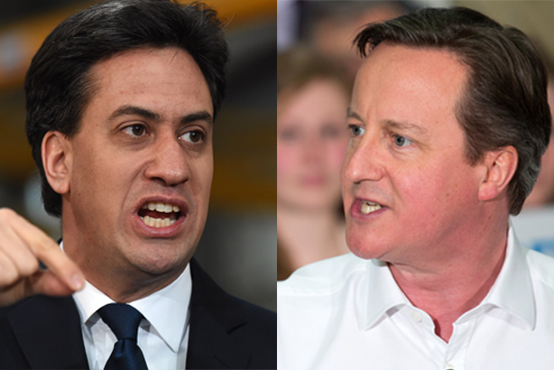 Ed Miliband and David Cameron: Both have pitfalls to avoid