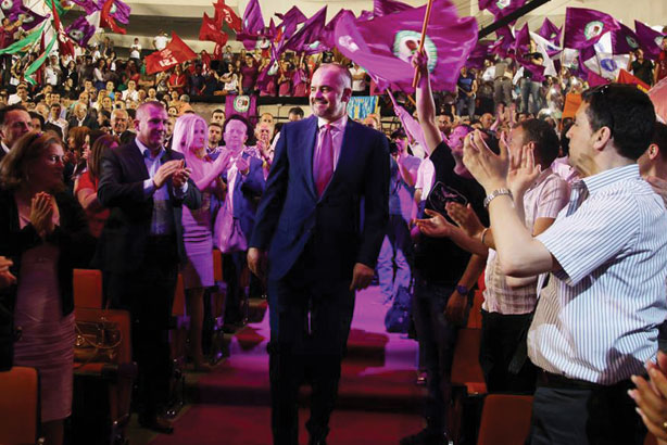 Edi Rama: Recently elected Albanian Prime Minister (Credit: Silverfish Media)