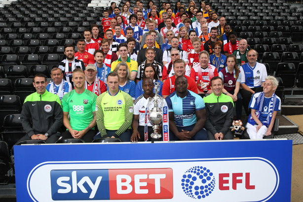 EFL: Representatives of the 72 clubs gather ahead of the start of the 2016/17 season