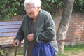 The elderly: Age Concern has stepped up PR activity