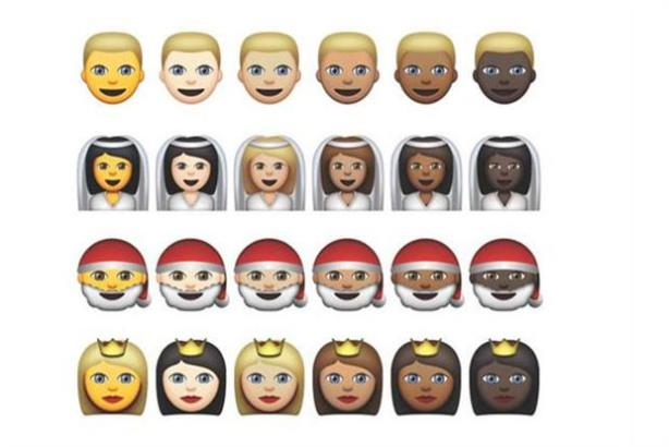 Apple's keyboard now has new skin tones