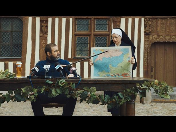 Heineken: Recent ad for its Kronenbourg 1664 brand stars ex-footballer Eric Cantona
