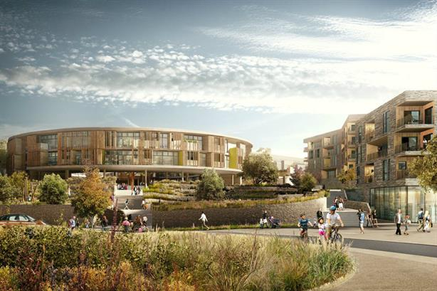 New development: The Quarry in Erith will include a school and ecology area