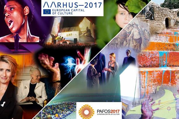 Aarhus, Denmark and Paphos, Cyprus share the 2017 European Capital of Culture title