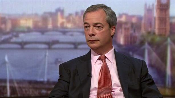 Farage: avoiding a role as the figurehead for the EU 'Out' campaign