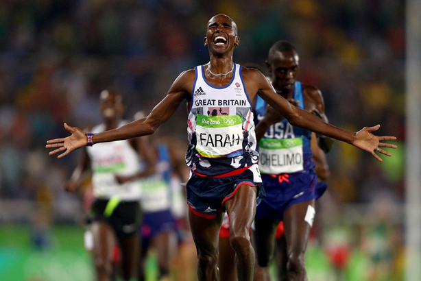 Farah won big in Rio, but which brands followed suit? (© Ian Walton / Rio 2016)