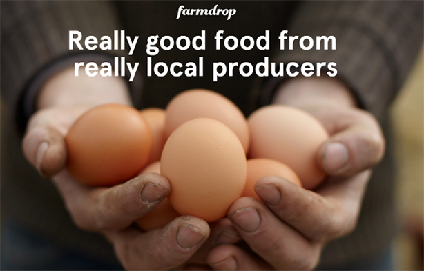 Farmdrop describes itself on its website as 'a bit like an online farmers market'