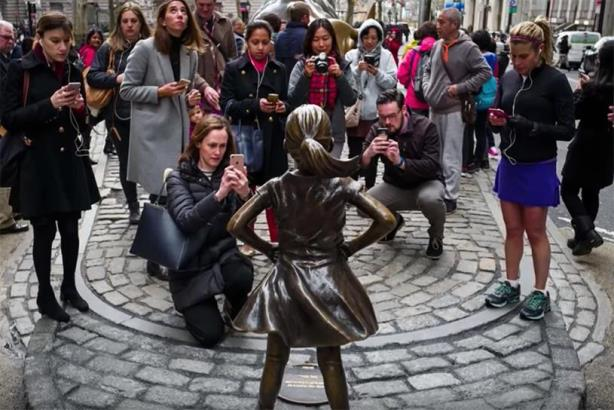 Fearless Girl: Grand Prix winner