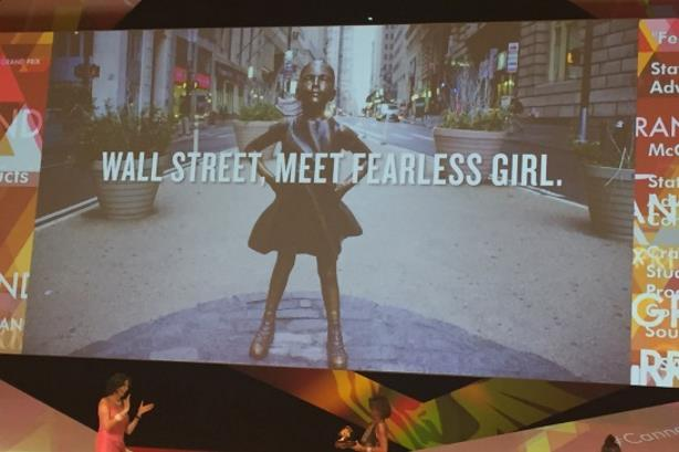 State Street's Fearless Girl campaign swept the board at Cannes Lions.