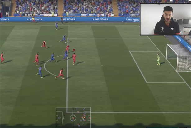 Cani's Fifa Career mode videos bring him almost 1 million views per month.