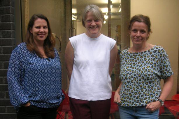 Finn Partners: (l-r) Flora Haslam, Chantal Bowman-Boyles, Claire Ayles