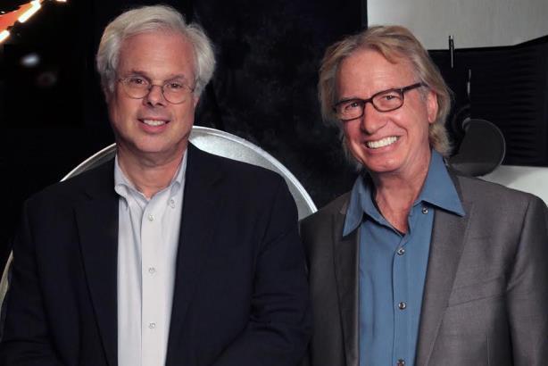 Peter Finn (L) and Burkey Belser