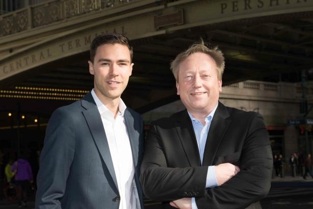 L-R: Managing consultant Alexander Schaper and CEO Andreas Fischer-Appelt