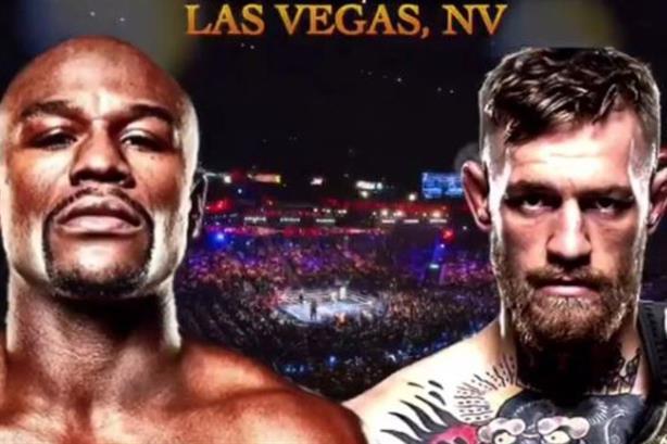 Floyd Mayweather (r) to take on Conor McGregor in Las Vegas (via @floydmayweather on Instagram)