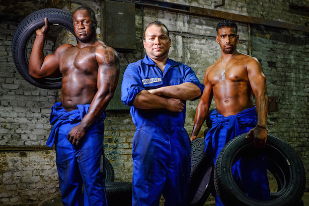 No models needed: KwikFit employees help launch the new campaign
