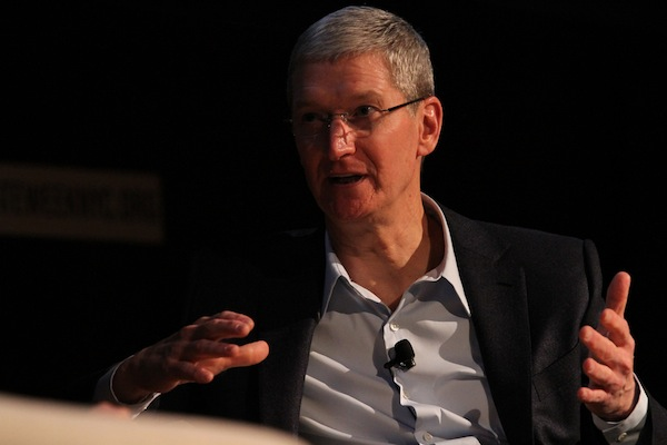 Tim Cook has begun his China charm offensive. (The Climate Group/Flickr)