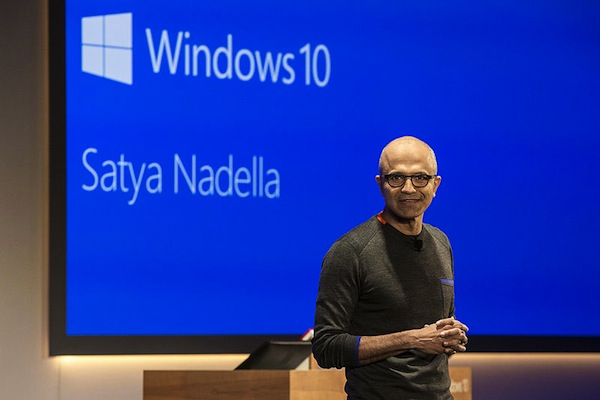 Satya Nadella is the latest big ticket US CEO to head to China recently. (Microsoft Sweden)