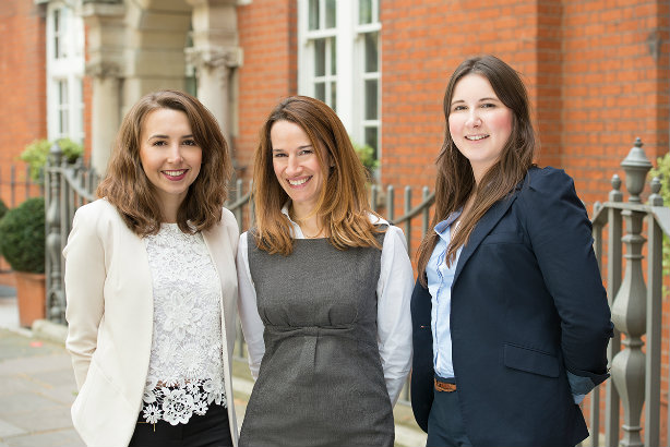 Foundation PR (l-r): Account manager Harriet Saywell-Lee, managing director Emma Ward Hunt, senior account executive Alexandra Hellyer