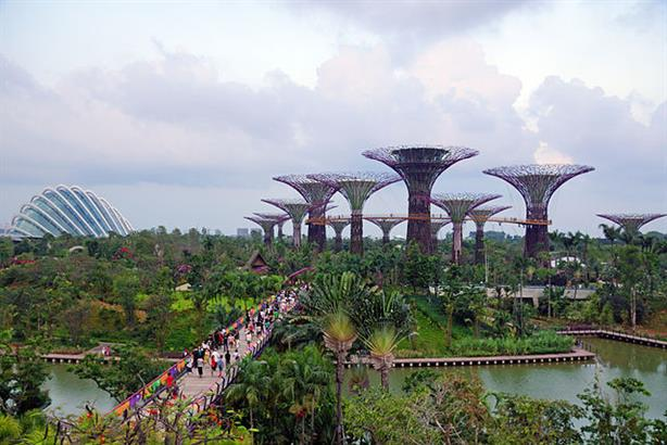 Gardens by the Bay (Allie Caulfield/Wikimedia Commons)