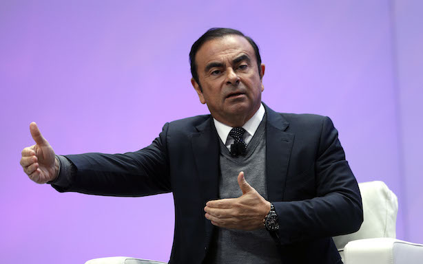 Carlos Ghosn (Photo credit: Getty Images)