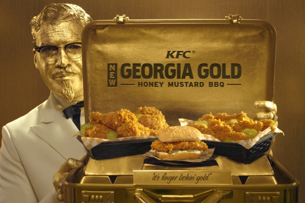 Introducing: The Georgia Gold Colonel