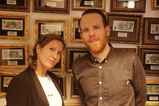 Sian Baker (l) and Sam Stocking (r): heads of PrettyStudio and PrettyPictures