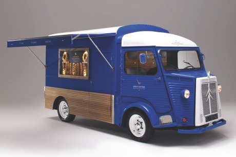 Grey Goose Boulangerie Francois: the brand has created a pop up bar in a bakery delivery van