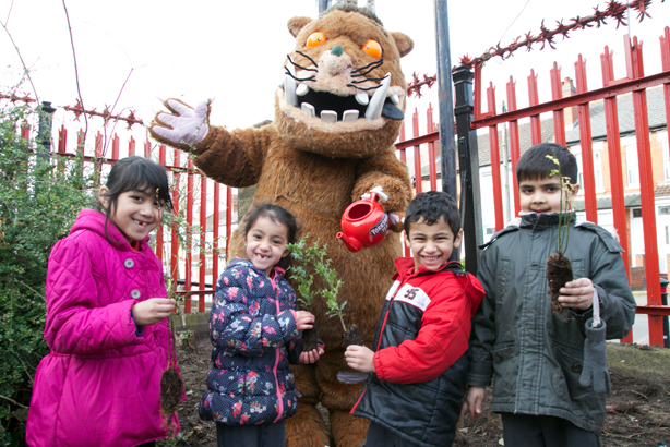 The Gruffalo: Will feature in the tree-planting campaign