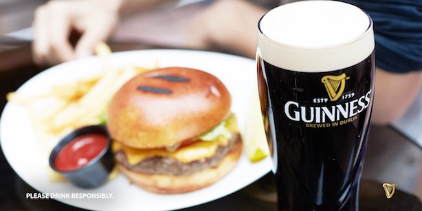Guinness is one of Diageo's brands. (Image via the beer brand's Facebook page).