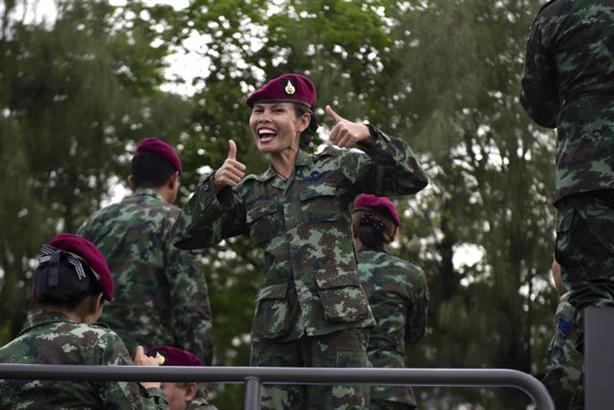 Thai army goes on a charm offensive