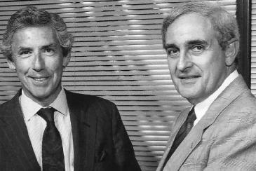 (L-R) Al Golin and Thomas Harris