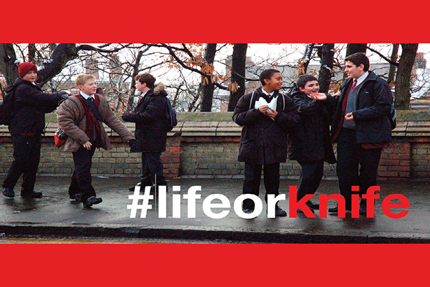 It's life or knife, says West Midlands Police in its behaviour-change campaign