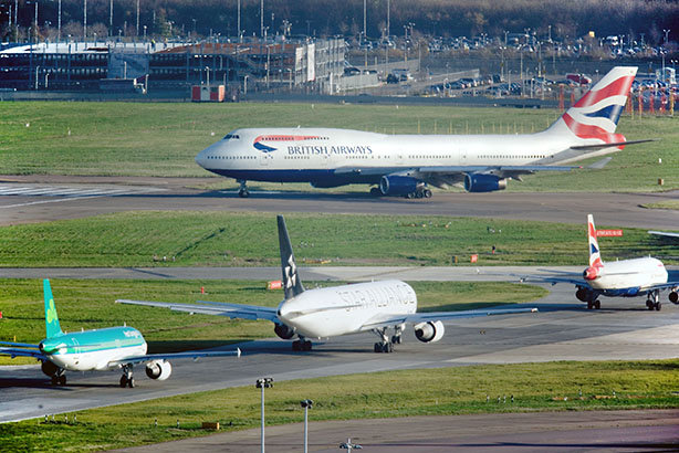 Heathrow: Stop dithering on expansion, business leaders told Government today (pic credit: BAA)