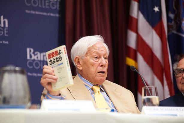 Herb Schmertz (Image credit: Museum of Public Relations)