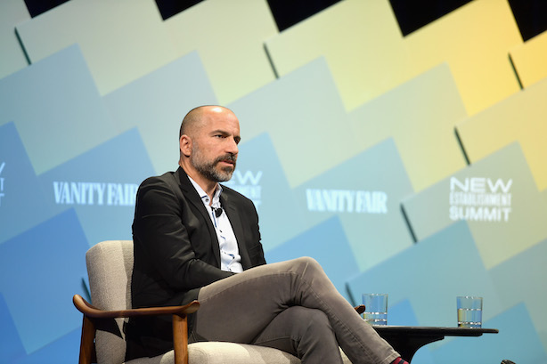 Uber CEO Dara Khosrowshahi, Photo credit: Getty Images