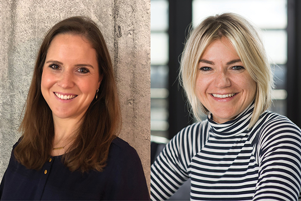 'Heavy hitters with huge value to clients': Jo Vyvyan-Robinson (left) and Lotte Jones