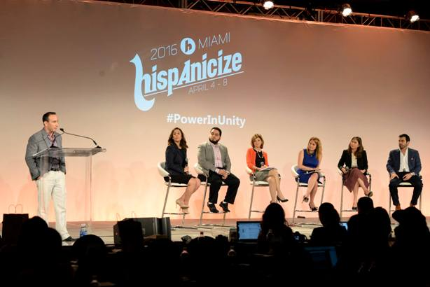 A panel at Hispanicize 2016 (via Hispanicize Facebook page)