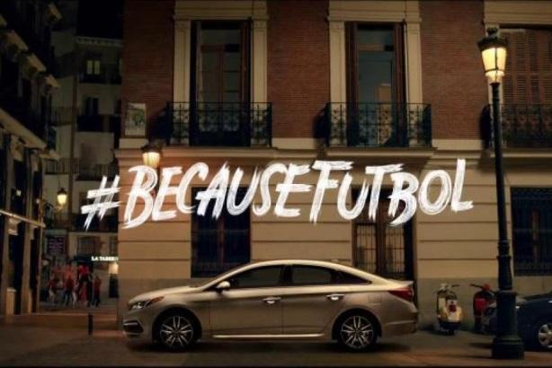 Hyundai's Because Fútbol campaign