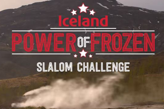 Iceland launched its Power of Frozen campaign in 2015