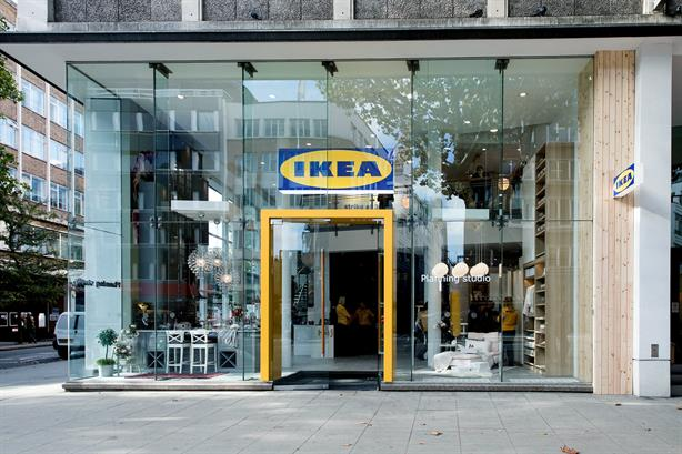 Ikea's planning studio on London's Tottenham Court Road